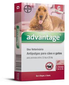 ADVANTAGE CAES/GATOS          2,5ml