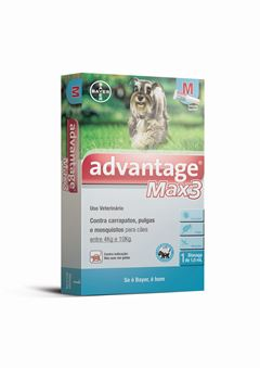 ADVANTAGE MAX3 CAES         1,0ml-M