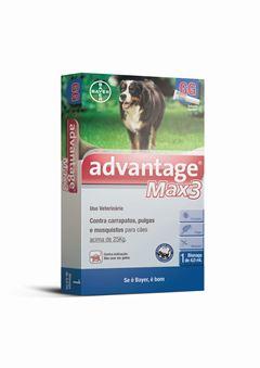 ADVANTAGE MAX3 CAES        4,0ml-GG
