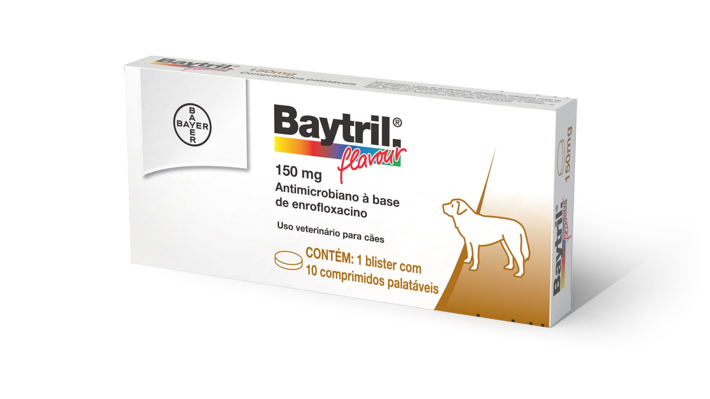 BAYTRIL FLAVOUR 150mg........10comp