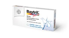 BAYTRIL FLAVOUR 50mg         10comp
