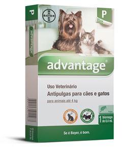 ADVANTAGE CAES/GATOS          0,4ml