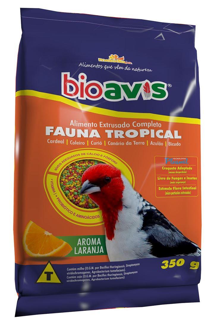 BIOAVIS FAUNA TROPICAL         350g