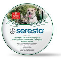 COLEIRA SERESTO CAES ATE 8 KG     P