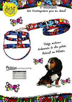 PEITEIRA C/GUIA C/PLUSH ART POP  00