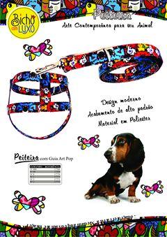 PEITEIRA C/GUIA C/PLUSH ART POP   0