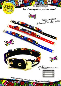 COLEIRA PLUSH ART POP             0