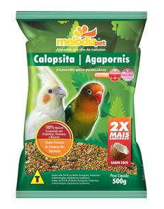 ALIMENTO P/CALOPSITA/AGAPORNIS 500g