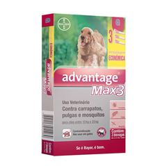 ADVANTAGE MAX3 CAES         3X2,5ML