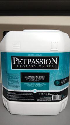 SHAMPOO NEUTRO PET PASSION       5L