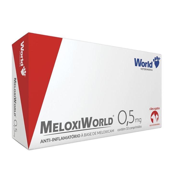 MELOXIWORLD 10 COMPRIMIDOS    0,5MG