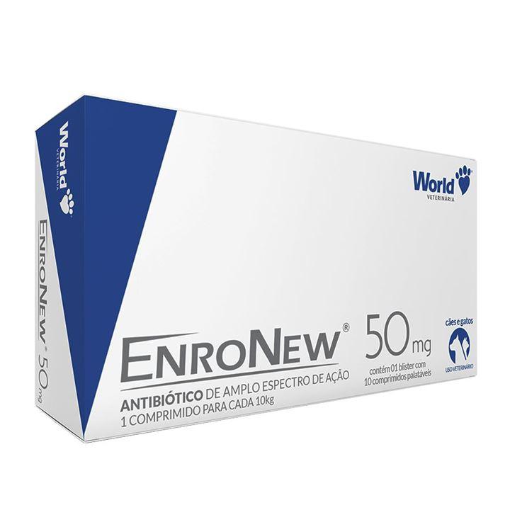 ENRONEW 10 COMPRIMIDOS         50MG