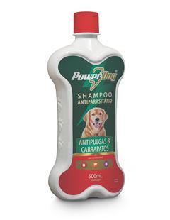 SH POWER DOG ANTIPULGA/CARRAP 500ML